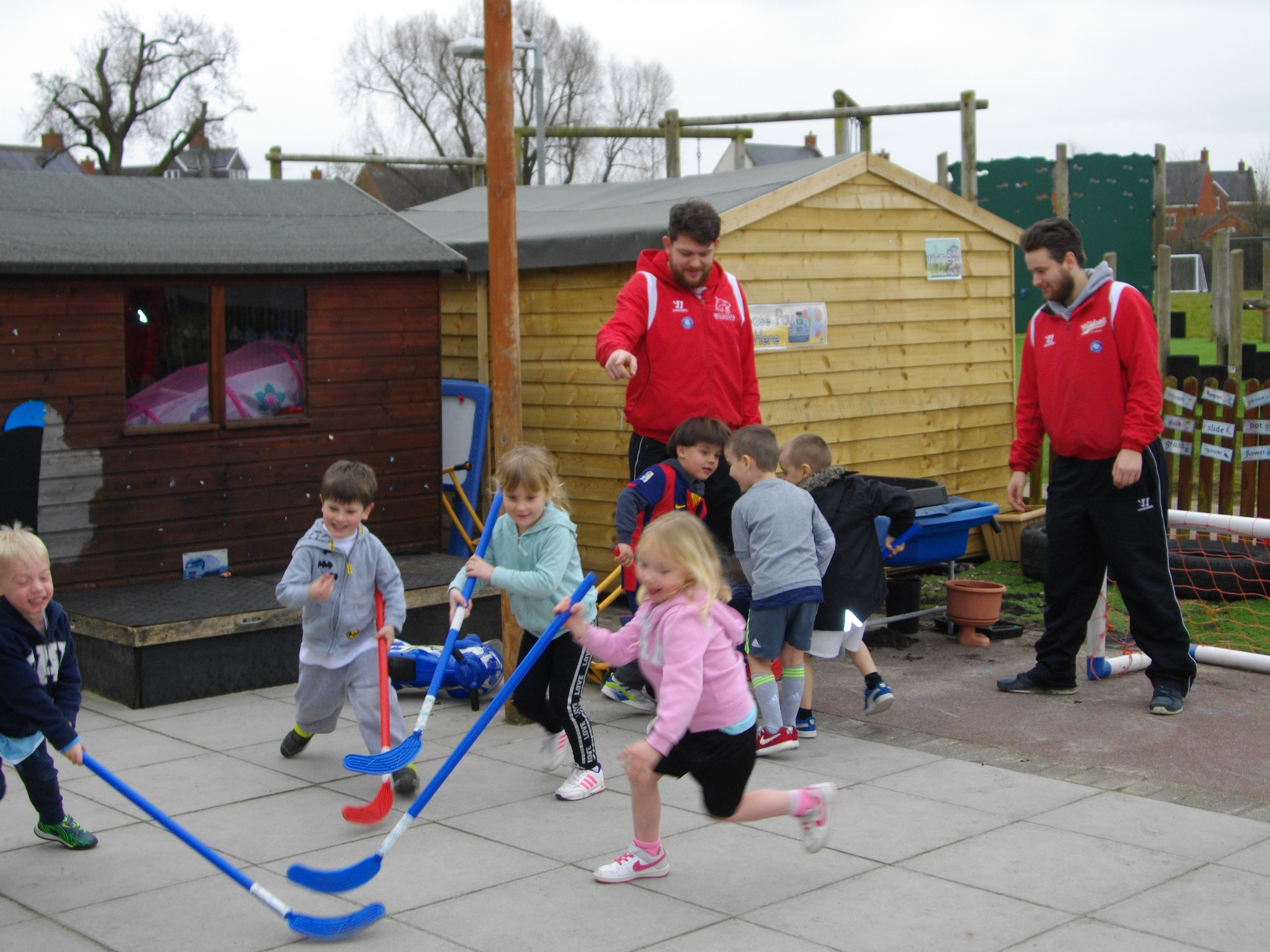 Swindon Wildcats in the community